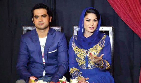 Pakistani actress Veena Malik and Her Husband Asad Bashir Khan Get Divorced