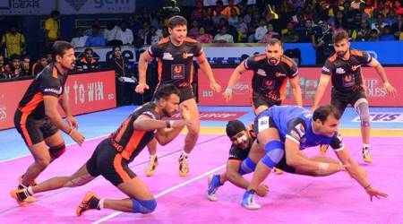 Giants crush Dabang in PKL debut