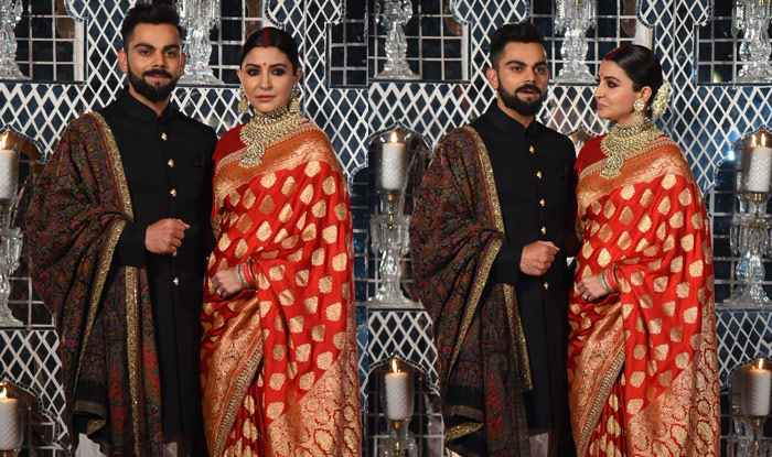 Virat and Anushka's Mumbai reception