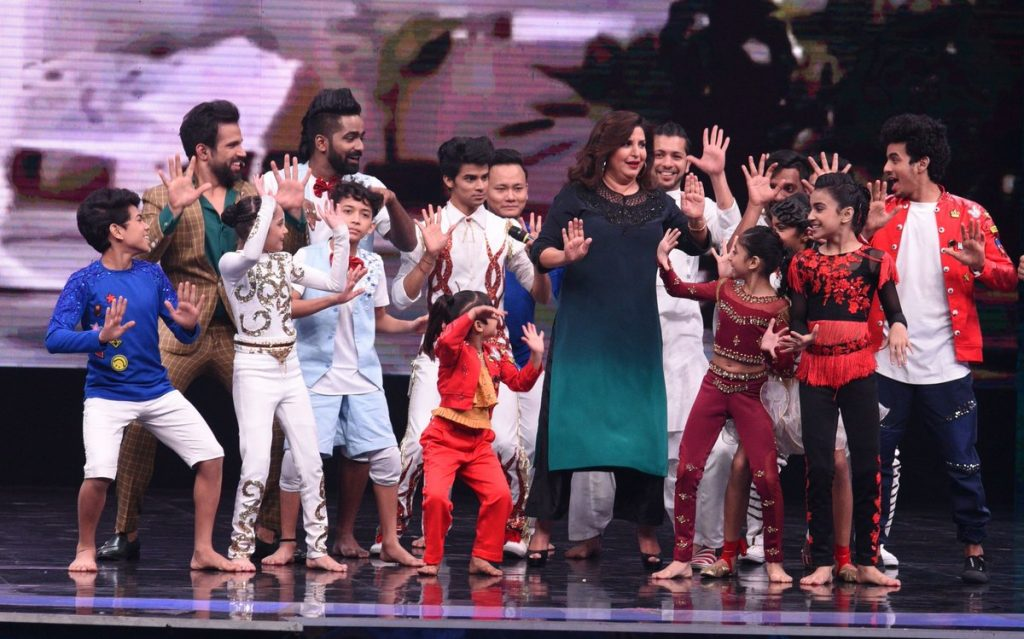 Farah Khan at Super Dancer 2 Episode 13th January 2018 HD