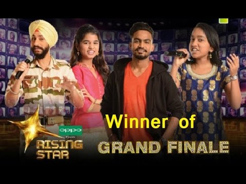 Rising Star Season 2 Winner Name Grand Finale Episode 15th April 2018 Runner Up and Prize Money