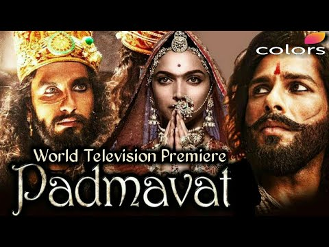 Watch Padmaavat Movie (WTP) World Television Premiere on Colors