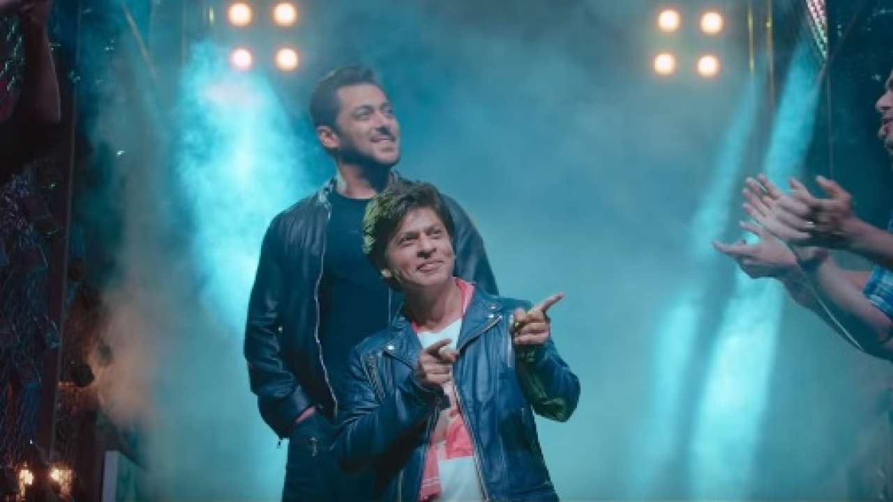 Watch Salman Shahrukh Khan Issaqbaazi Video Song Out From Zero Movie