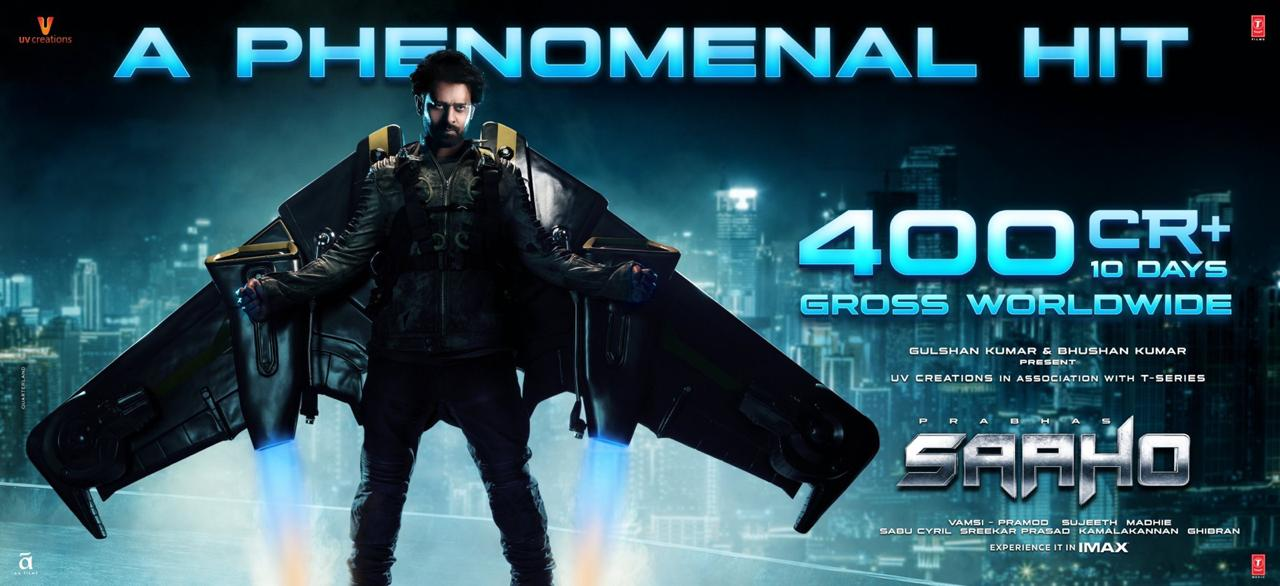 Saaho 13th Day Box Office Collection Total 2nd Week
