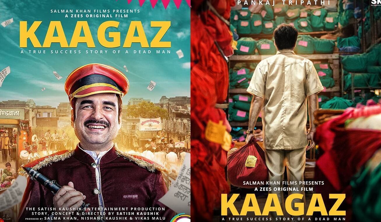 Kaagaz Web Film Release Date, Story & Plot, Cast, Trailer, Reviews, Actress Name