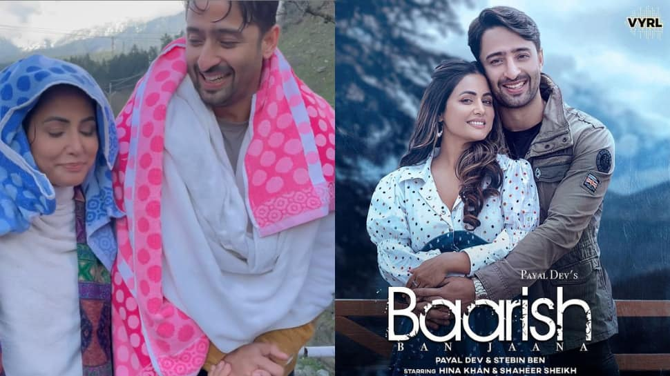 Watch Hina Khan and Shaheer Sheikh cast in music video