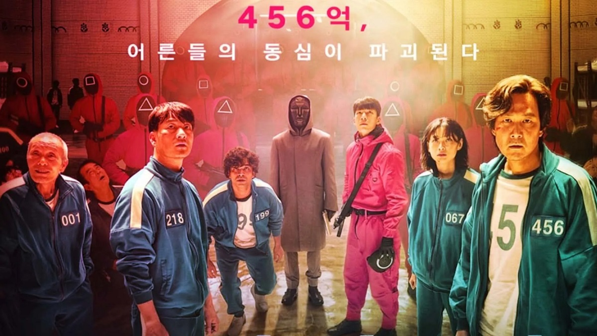 The show starts with the character Ki-hoon who got fired from his job and learns about a game that offers a cash prize f 45.6 million to the winner.