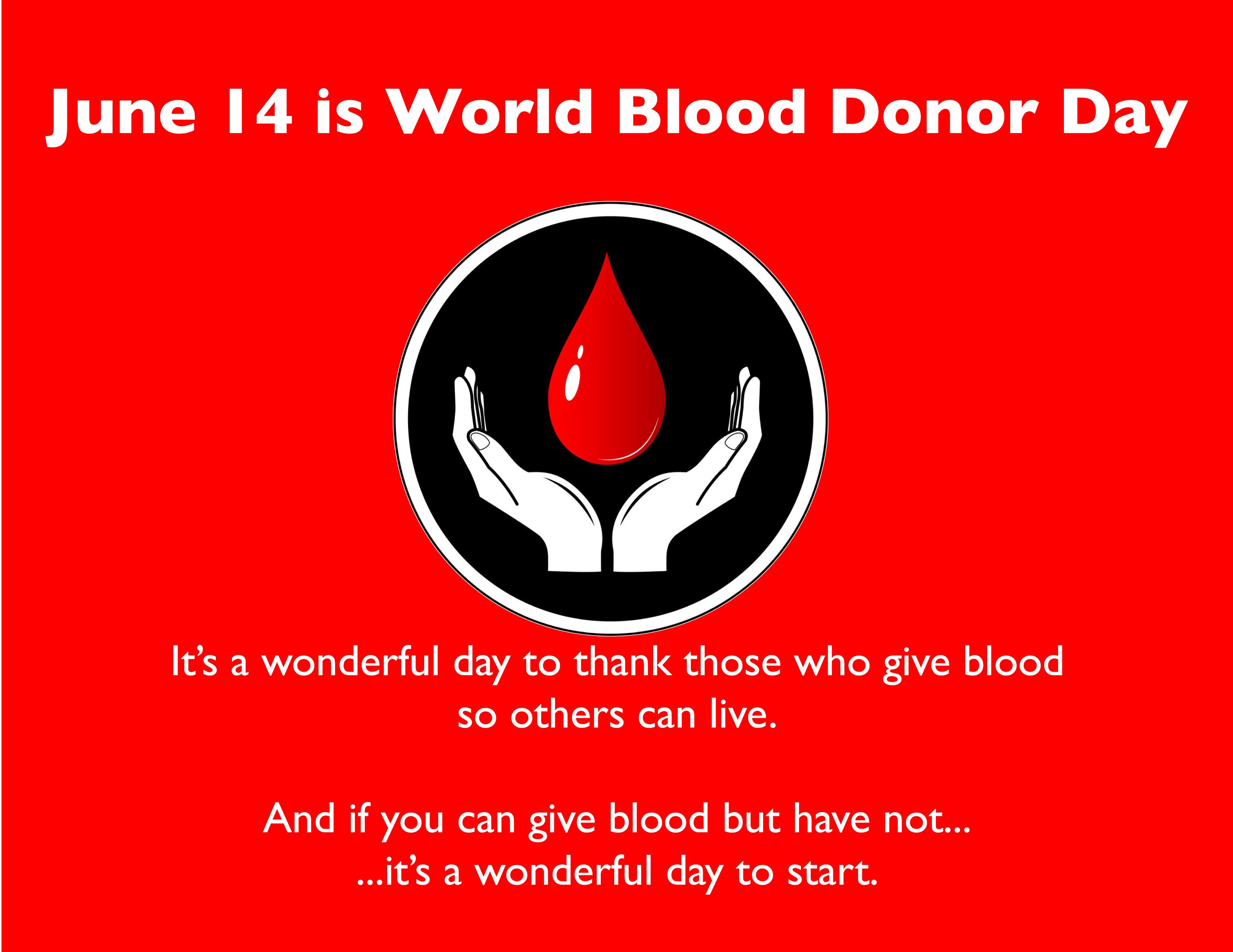 World Blood Dono rDay:Layout 1
